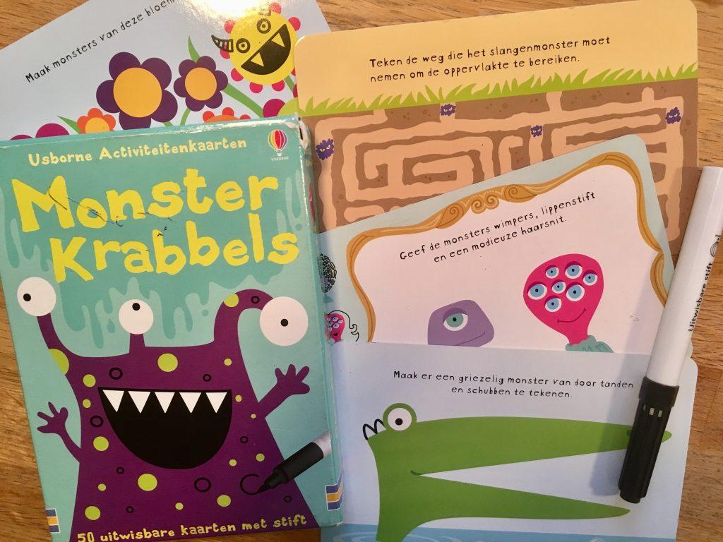 Monster Krabbels spelletjes